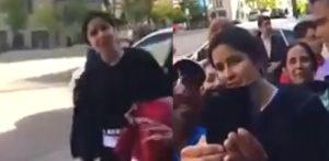 Katrina Kaif gets Booed by Salman Khan Fan in Video f