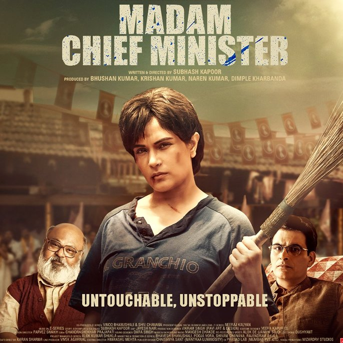'Madam Chief Minister' Poster sparks Anger over Caste Stereotypes