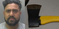 Man attacked Victim with Axe & set Dogs on Him