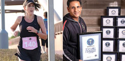 Ziyad Rahim & Stephanie Innes to Run Far in Qatar