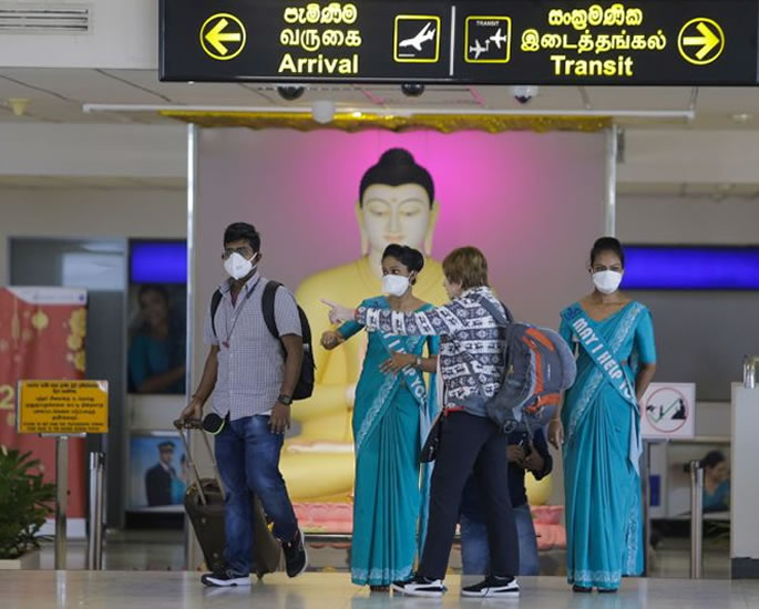 Sri Lanka Reopens Borders after 10-Month Closure - airport