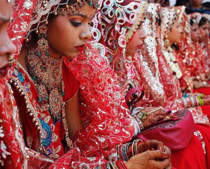 The Origins of India's Child Marriages - buying