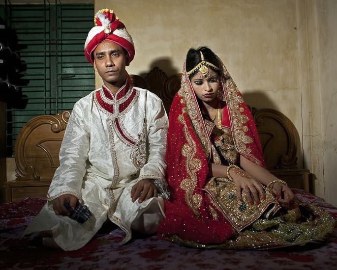 The Origins of India's Child Marriages - child bride