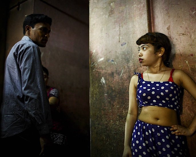 The Rise of the 'Flesh Trade' in India - child and man