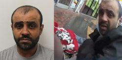 चोरट्याने वयोवृद्ध महिलेला धक्का दिला आणि पोलिसांसमोर पर्स चोरला