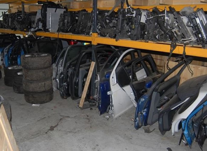 UK's Largest Chop Shop Gang told to Pay Back £1m