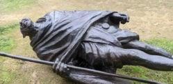 Vandalised Mahatma Gandhi statue in US sparks Outrage