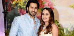 Varun Dhawan & Natasha Dalal getting ready for Wedding