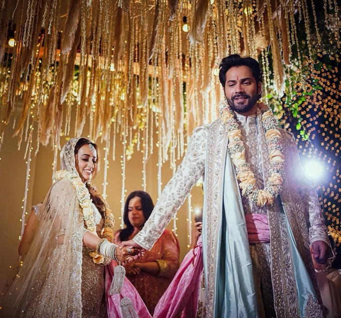 Varun Dhawan and Natasha Dalal are Married - ceremony