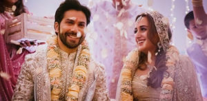 Varun Dhawan and Natasha Dalal are Married f