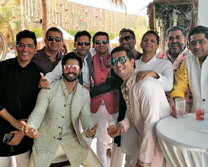 Varun Dhawan and Natasha Dalal are Married - stag