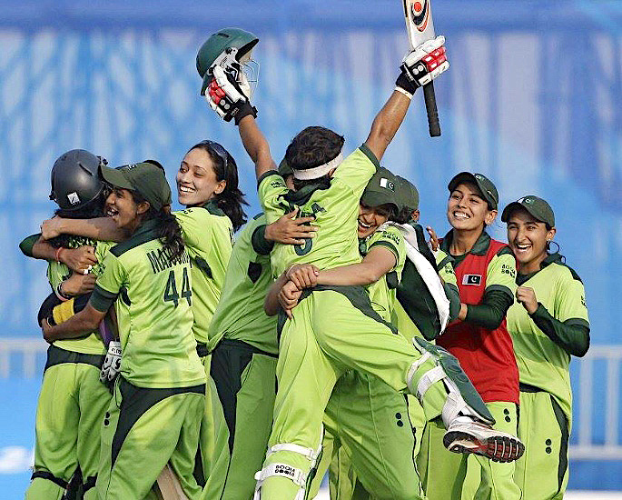 Which was the First Women's Cricket Team to win Gold? -IA 2