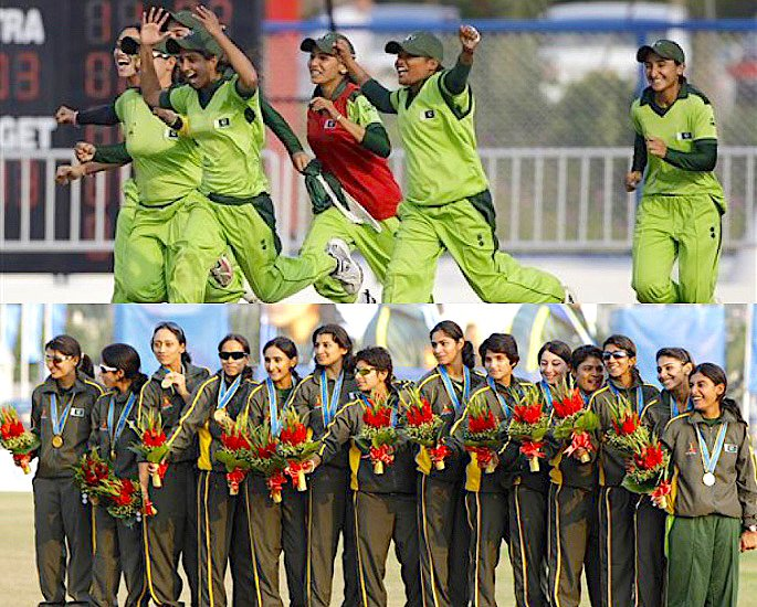 Which was the First Women's Cricket Team to win Gold? - IA 3