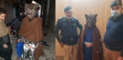 Pakistani Man Arrested for wearing Wolf Mask