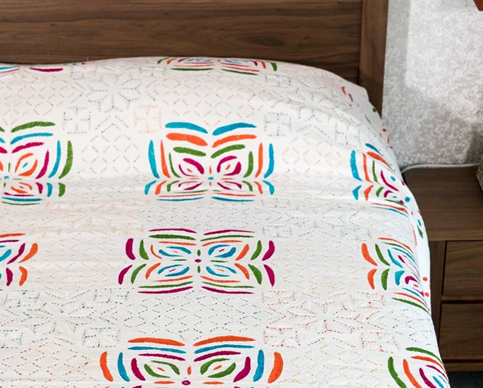 Indian-inspired Bedroom Decor ideas to Check Out - blanket