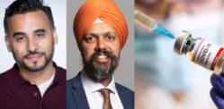 एशियाई हस्तियाँ और राजनेता आपसे टीकाकरण करने का आग्रह करते हैं