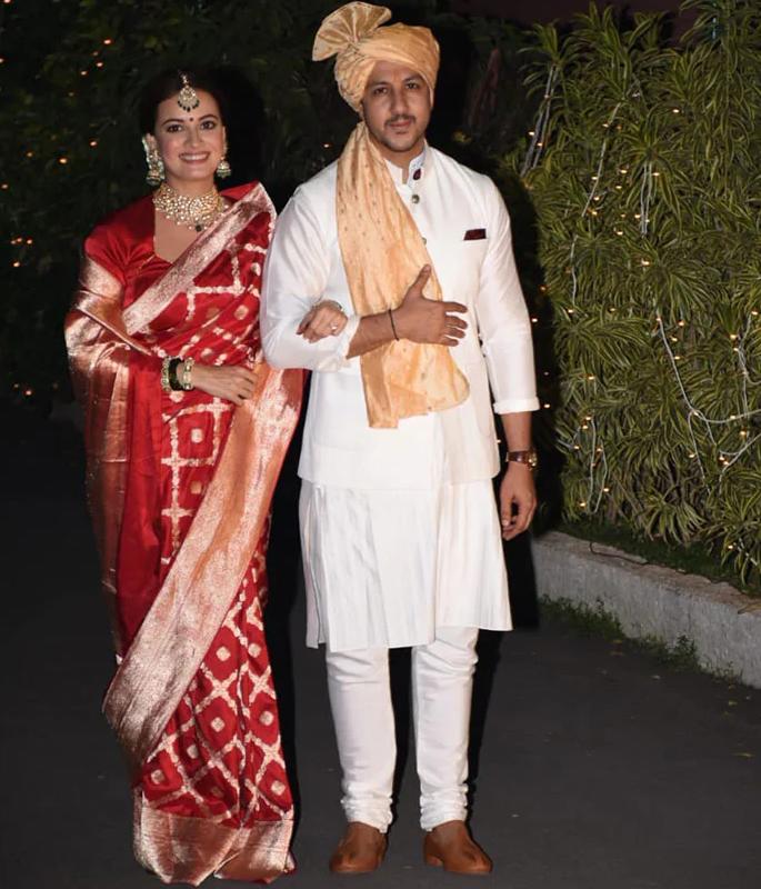 Dia Mirza ties knot with Vaibhav Rekhi