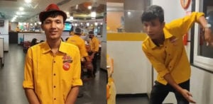 Guwahati Waiter's dancing video goes viral-f (1)