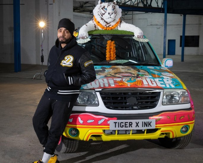 Inkquisitive talks 'The White Tiger' Artwork & Artistry