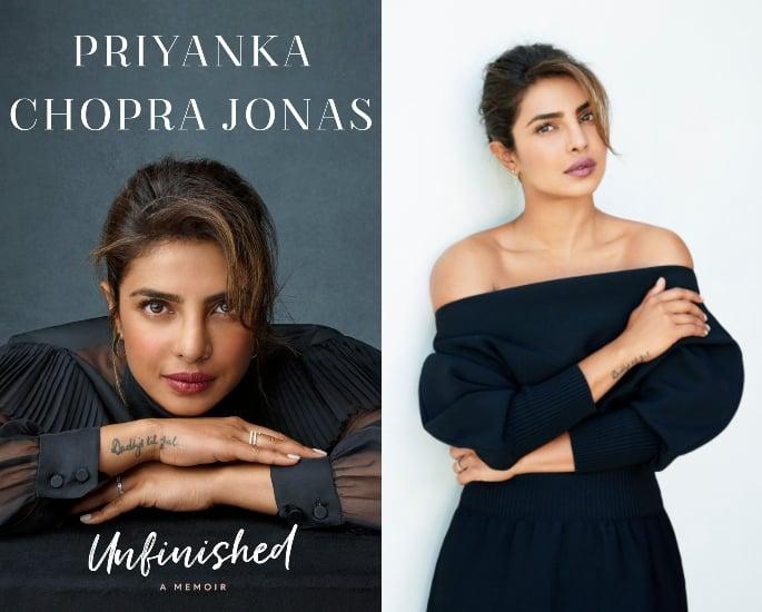 प्रियंका चोपड़ा ने 'अनफिनिश्ड' और निक जोनास बुक रिव्यू की बातचीत की