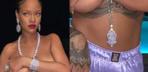 Rihanna Topless photo sparks Cultural Appropriation Row f