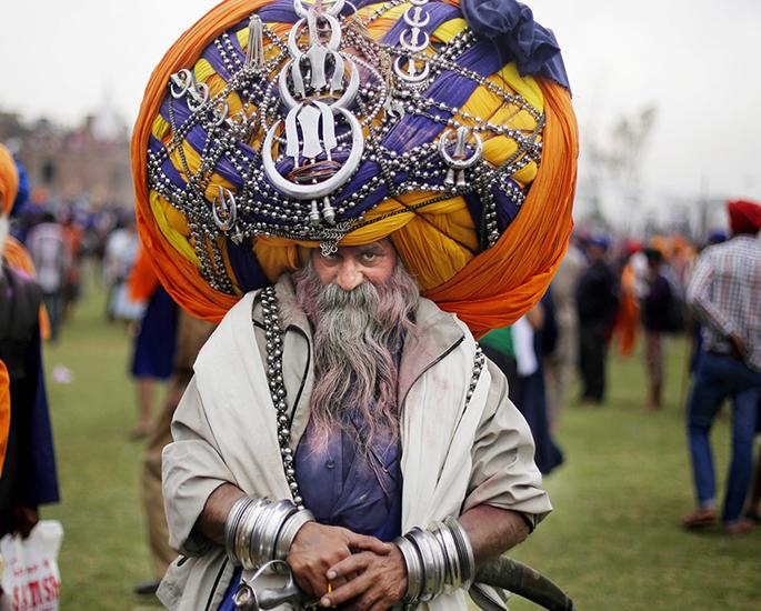 अजीब और अजीब दक्षिण एशियाई विश्व रिकॉर्ड - पगड़ी