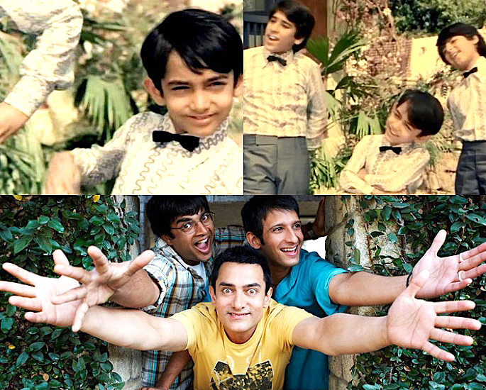 Which Famous Celebs started as Bollywood Child Artists? - Aamir Khan