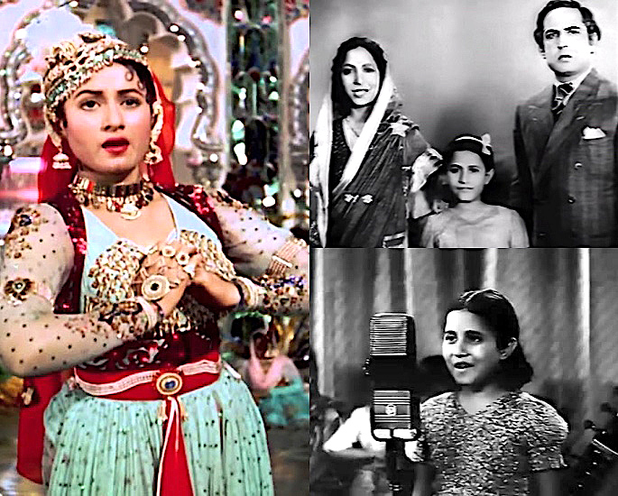 Which Famous Celebs started as Bollywood Child Artists? - Madhubala