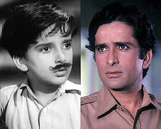 Which Famous Celebs started as Bollywood Child Artists? - Shashi Kapoor