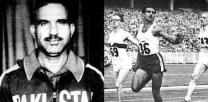 Which Pakistani Athlete was the Fastest Sprinter of Asia? f1