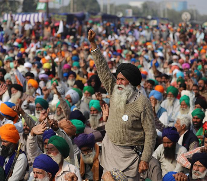 احتجاج کیوں - ہندوستانی کسانوں کا احتجاج انسانیت سوز بحران ہے