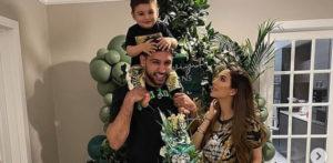 Amir Khan & Faryal Makhdoom celebrate Son's 1st Birthday f