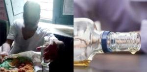 अपमानजनक वीडियो के वायरल होने के बाद नशे में धुत भारतीय शिक्षक (1)