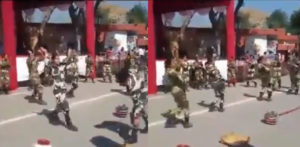 Indian Army Women show-off Punjabi Giddha Dancing f