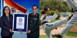 Indian Martial Artist breaks 12th World Record