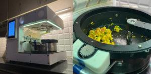 स्क्रॅच एफ पासून भारतीय जेवण बनवण्यासाठी निंबळेने फूड रोबोट तयार केला