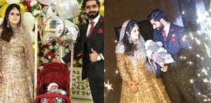 Pakistani Couple took their Baby Son to their Walima f