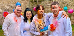 Priyanka Chopra celebrates Holi with Nick Jonas & In-Laws