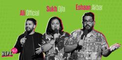 Top Desi Comedians raise awareness of Hepatitis C