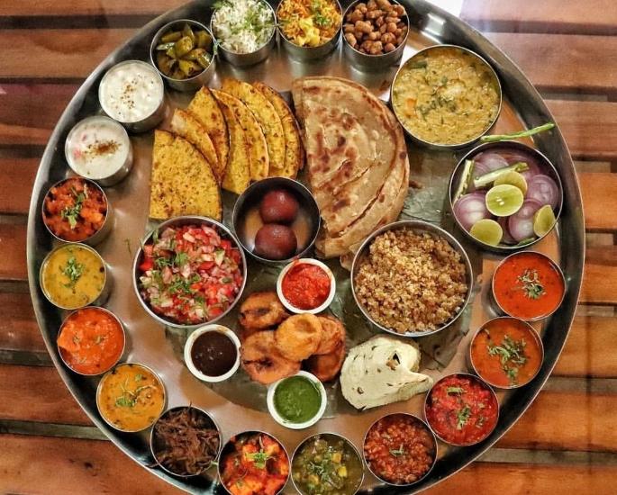 5 Indian Food Tips to Help Type 2 Diabetes- thali