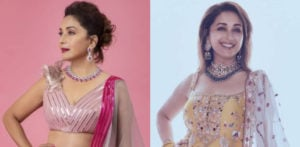 5 Stunning Ethnic Looks of Madhuri Dixit f
