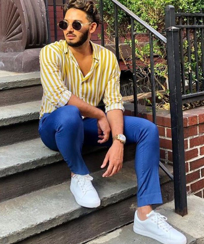 5 Ways Desi Men Can Improve Their Style - white trainers