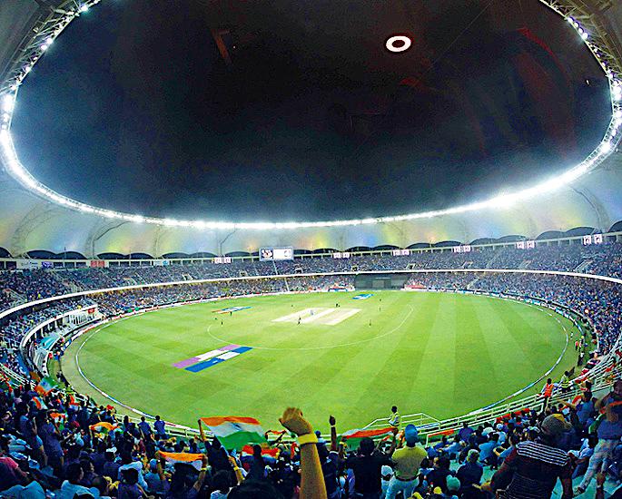 ભારત વિ પાકિસ્તાન ક્રિકેટ સિરીઝ માટે 6 તટસ્થ સ્થળો - દુબઇ