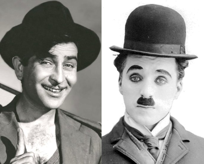 7 Bollywood Stars Who are Influenced by Hollywood – Raj Kapoor and Charlie Chaplin