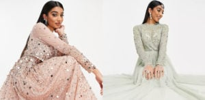 ASOS 'پریشان کن' نئے ایشیائی شادی کا جوڑا f پر تنقید کا نشانہ بنا