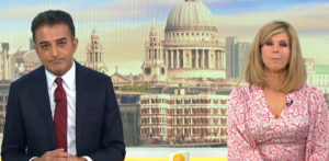 Adil Ray clashes with Kate Garraway over Staycations on GMB f