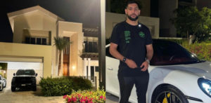 """Amir Khan sfoggia Dubai Holiday Mansion e """"Dream Car"""" f"""