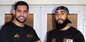 Amir Khan signs Sikh World Champion prospect Tal Singh f
