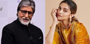 Amitabh Bachchan and Deepika Padukone reunite for 'The Intern' f
