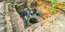 Ancient 13-Century Well rediscovered in Indian Forest